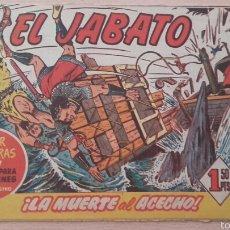 Tebeos: EL JABATO Nº57 ¡LA MUERTE AL ACECHO! ORIGINAL BRUGUERA 1959. Lote 57325471