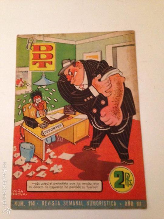EL DDT 1ª EPOCA Nº 114. BRUGUERA 1953. (Tebeos y Comics - Bruguera - DDT)