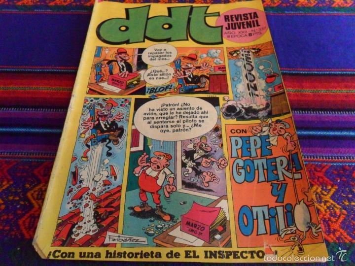 Tebeos: REVISTA JUVENIL DDT NºS 337 377 419 433 446 450 451 454 457. BRUGUERA. SUELTOS. - Foto 3 - 50232119