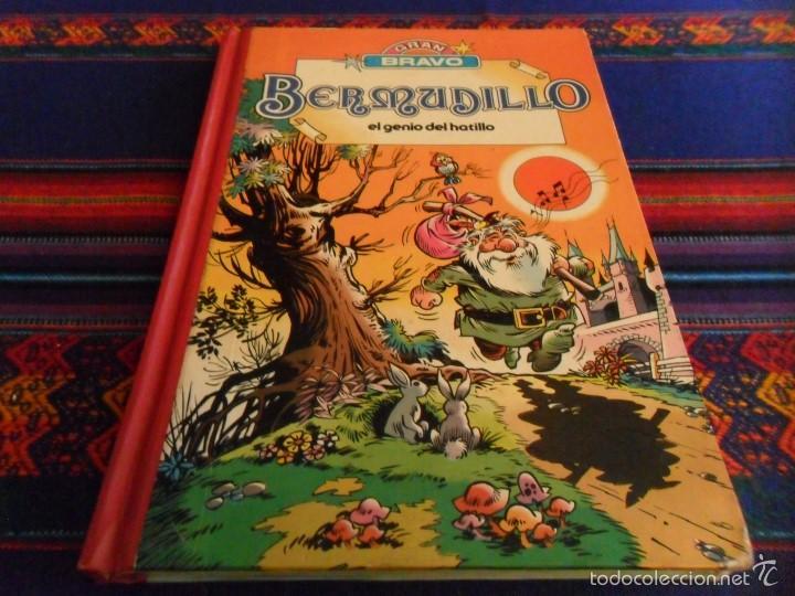 GRAN BRAVO TOMO TIPO SUPER HUMOR. BERMUDILLO EL GENIO DEL HATILLO. BRUGUERA 1982. RARO. (Tebeos y Comics - Bruguera - Bravo)