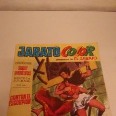 Tebeos: JABATO COLOR Nº 3. CONTRA EL ESCORPION. 1ª PRIMERA EPOCA. BRUGUERA 1969.. Lote 57395055