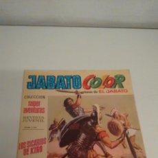 Tebeos: JABATO COLOR Nº 17. LOS SICARIOS DE KIRO. 1ª PRIMERA EPOCA. BRUGUERA 1970. . Lote 57395159