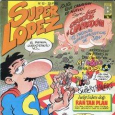 Tebeos: SUPER LOPEZ Nº 52 EDICIONES B. Lote 57420049