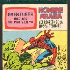 Tebeos: TEBEOS-COMICS CANDY - AVENTURAS INEDITAS DEL CINE Y TV - Nº 10 - SPIDERMAN - HULK - *AA99. Lote 57421957