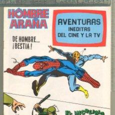 Tebeos: TEBEOS-COMICS CANDY - AVENTURAS INEDITAS DEL CINE Y TV - Nº 11 - SPIDERMAN - HULK - *AA99. Lote 57422284