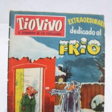 BDs: CÓMIC TIO VIVO - NÚMERO EXTRAORDINARIO DEDICADO AL FRÍO. Nº 129 - ED. BRUGUERA, AÑOS 50. Lote 57426204