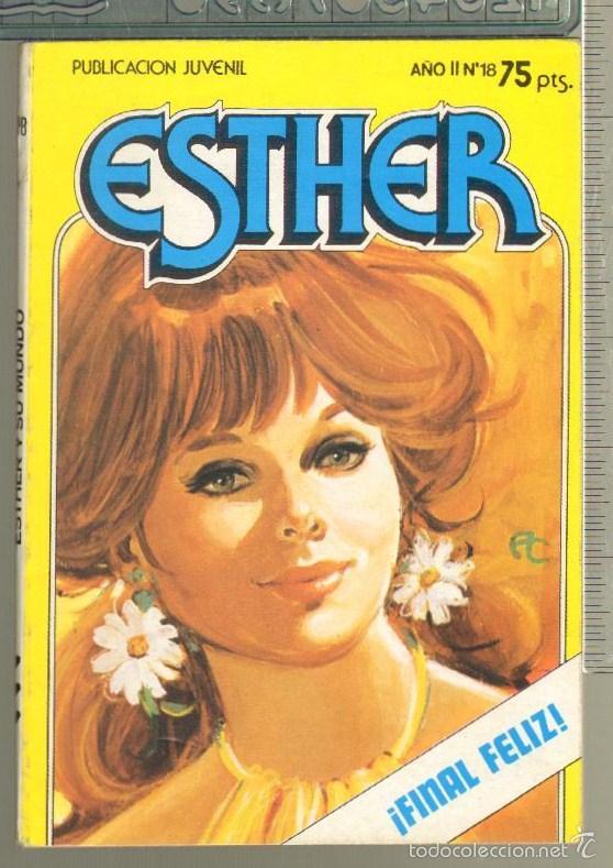 TEBEOS-COMICS CANDY - ESTHER - Nº 18 - BRUGUERA - 1983 - *AA99 (Tebeos y Comics - Bruguera - Esther)
