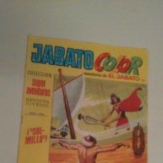 Tebeos: JABATO COLOR Nº 120. COLMILLO. 1ª PRIMERA EPOCA. BRUGUERA 1971. . Lote 57442040