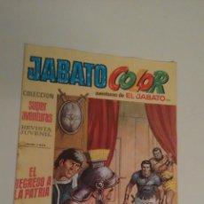 Tebeos: JABATO COLOR Nº 122. EL REGRESO A LA PATRIA. 1ª PRIMERA EPOCA. BRUGUERA 1971.. Lote 253307145