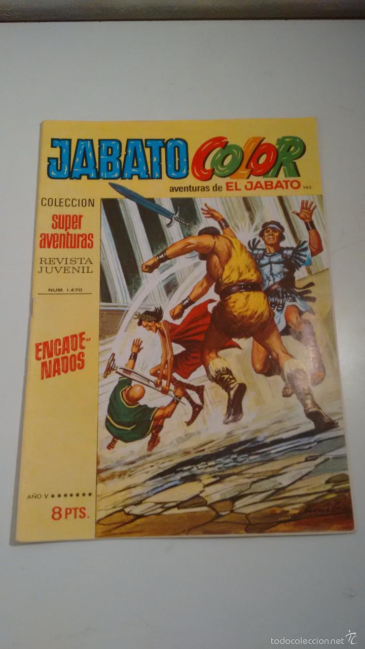 JABATO COLOR Nº 145. ENCADENADOS. 1ª PRIMERA EPOCA. BRUGUERA 1971. (Tebeos y Comics - Bruguera - Jabato)