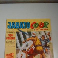 Tebeos: JABATO COLOR Nº 145. ENCADENADOS. 1ª PRIMERA EPOCA. BRUGUERA 1971. . Lote 57442418