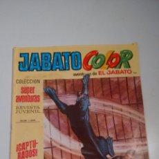 Tebeos: JABATO COLOR Nº 152. CAPTURADOS. 1ª PRIMERA EPOCA. BRUGUERA 1971. . Lote 57442469