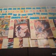 Tebeos: LOTE 39 JABATO COLOR 1ª PRIMERA EPOCA. BRUGUERA 1969. PRIMEROS NUMEROS.. Lote 57443141