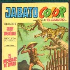 Tebeos: TEBEOS-COMICS CANDY - JABATO COLOR - Nº 93 - ED. BRUGUERA - 1969 - 1ª EDICION *AA99. Lote 57443753