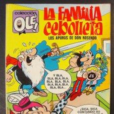 Tebeos: COLECCIÓN OLE. Nº 59. LA FAMILIA CEBOLLETA. AÑO 1971.. Lote 57449828