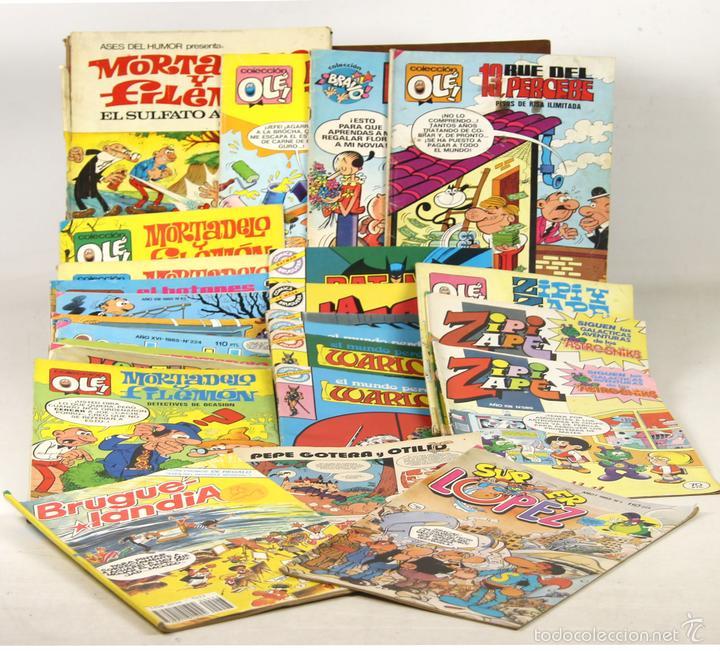 7643 - EDITORIAL BRUGUERA. 25 EJEMPLARES. (VER DESCRIPCIÓN). VV. AA. 1971-1986. (Tebeos y Comics - Bruguera - Otros)