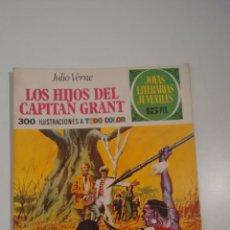 Tebeos: JOYAS LITERARIAS JUVENILES Nº 9 LOS HIJOS DEL CAPITAN GRANT LABERINTO ROJO. BRUGUERA 1ª EDICION 1970. Lote 57484217