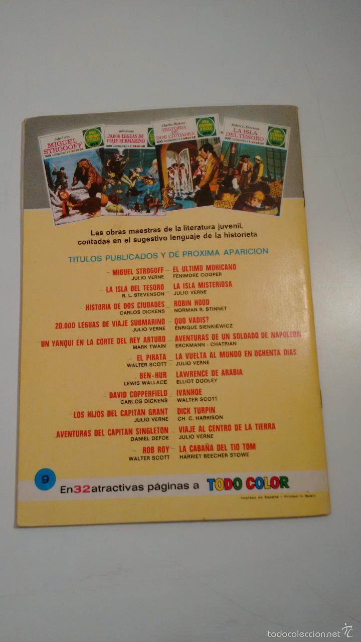 Tebeos: JOYAS LITERARIAS JUVENILES Nº 9 LOS HIJOS DEL CAPITAN GRANT LABERINTO ROJO. BRUGUERA 1ª EDICION 1970 - Foto 3 - 57484217