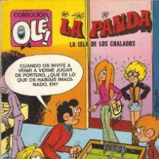 Tebeos: COLECCIÓN OLÉ - Nº 72 - LA PANDA - LA ISLA DE LOS CHALADOS - EDT. BRUGUERA, 1ª ED. 1973.. Lote 57484236