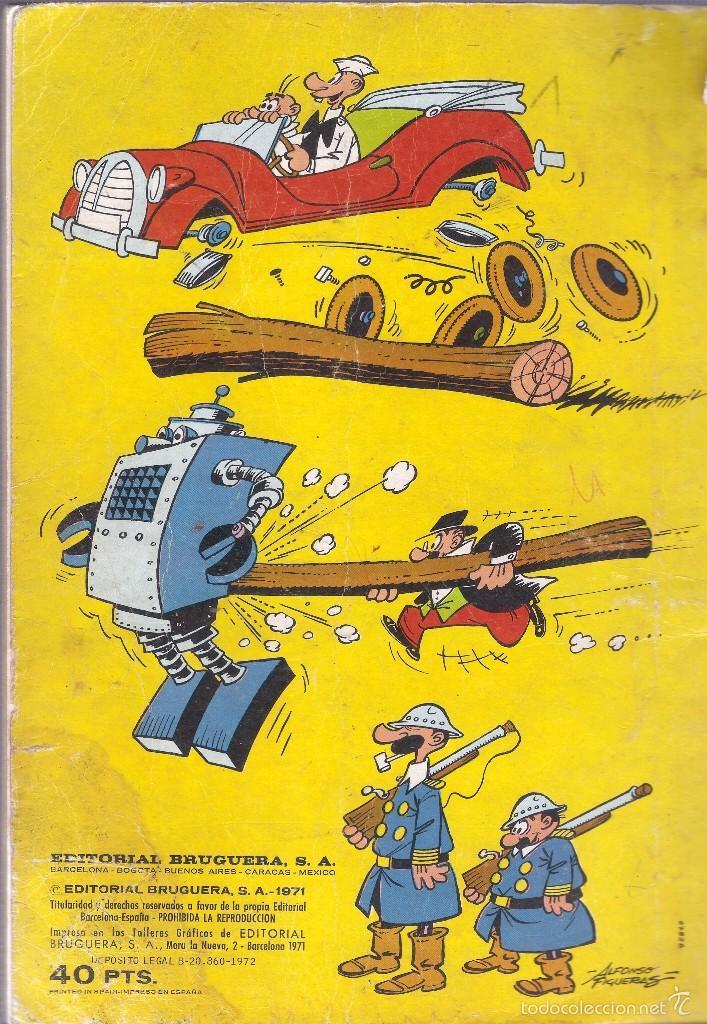 Tebeos: COLECCIÓN OLÉ - Nº 51 - ASPIRINO Y COLODIÓN Y SU MUNDO LOCO - EDT. BRUGUERA, 1ª Ed. 1971. - Foto 2 - 57484843