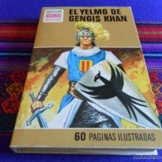 Tebeos: HISTORIAS SELECCIÓN HÉROES Nº 6 EL CAPITÁN TRUENO EL YELMO DE GENGIS KHAN. BRUGUERA 1ª ED. 1975.. Lote 57492592