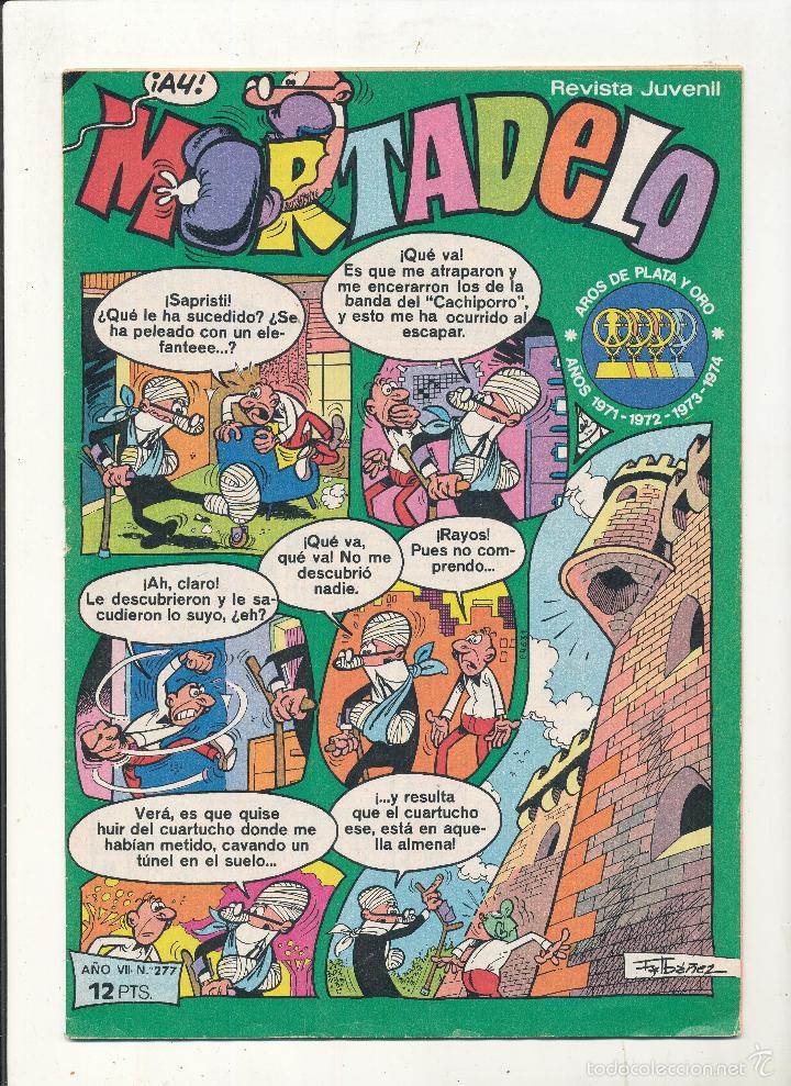 MORTADELO Nº 277. (Tebeos y Comics - Bruguera - Mortadelo)