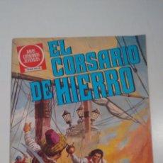 Tebeos: EL CORSARIO DE HIERRO. JOYAS LITERARIAS JUVENILES. SERIE ROJA Nº 2. 2ª EDICION BRUGUERA.. Lote 57540909