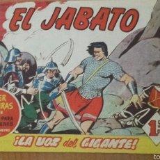 Tebeos: EL JABATO Nº 142 ¡LA VOZ DEL GIGANTE! ORIGINAL BRUGUERA 1960. Lote 57578468