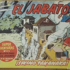 Tebeos: EL JABATO Nº 147¡SIKINO TAKANAKA! ORIGINAL BRUGUERA 1960. Lote 57578590