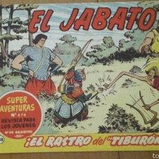 Tebeos: EL JABATO Nº 148 ¡EL RASTRO DEL TIBURÓN! ORIGINAL BRUGUERA 1960. Lote 57578617