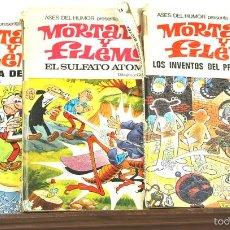 Tebeos: 7703 - LOTE DE 3 EJEMPLARES MORTADELO Y FILEMÓN(VER DESCRIP). EDIT. BRUGUERA. 1969/1971.. Lote 57642841