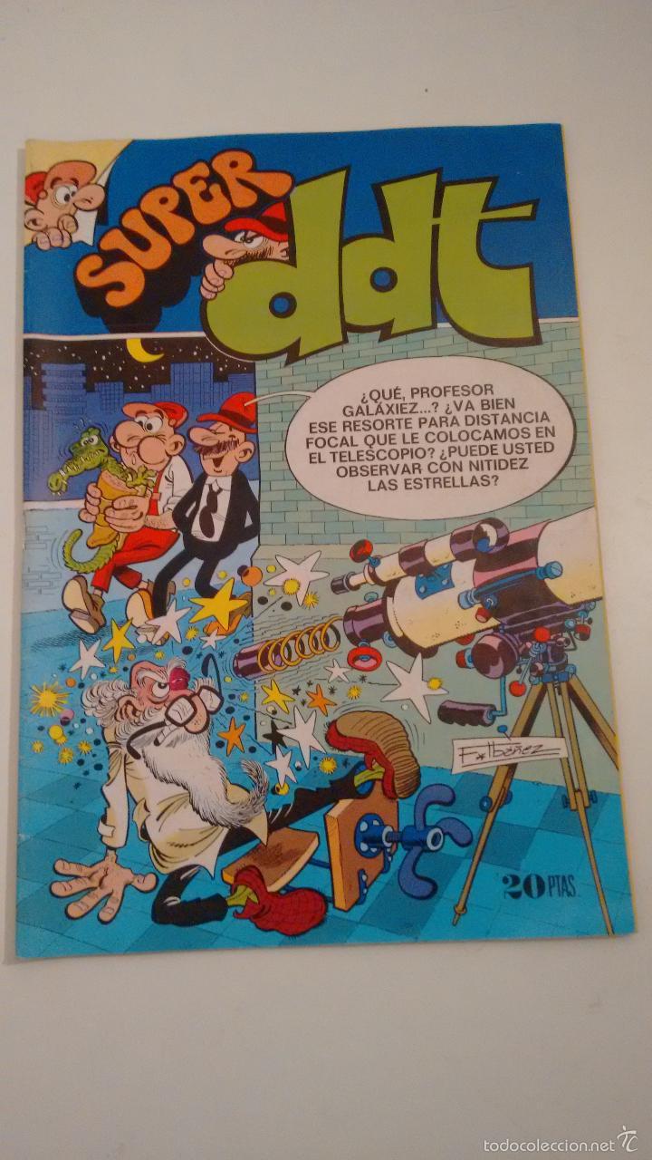 SUPER DDT Nº 14. BRUGUERA 1974 (Tebeos y Comics - Bruguera - DDT)