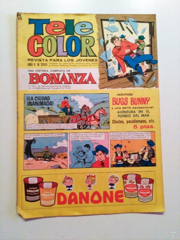 TELE COLOR AÑO V - Nº 200. 1967. EDITORIAL BRUGERAS (Tebeos y Comics - Bruguera - Tele Color)