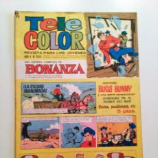 Tebeos: TELE COLOR AÑO V - Nº 200. 1967. EDITORIAL BRUGERAS. Lote 57691993