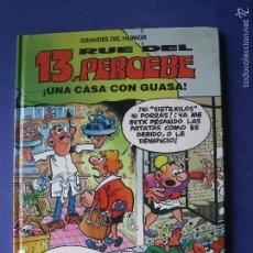 Tebeos: GRANDES DEL HUMOR. Nº 8 EL PERIODICO. 13 RUE DEL PERCEBE. UNA CASA CON GUASA. Lote 57738093