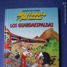 Tebeos: MORTADELO Y FILEMÓN, GRANDES DEL HUMOR, LOS GUARDAESPALDAS, COMIC EN TAPA DURA,. Lote 57738175