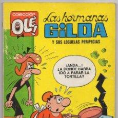 Tebeos: OLE Nº 9 LAS HERMANAS GILDA (BRUGUERA 1ª EDICIÓN 1971). Lote 57746819
