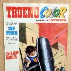 Tebeos: TRUENO COLOR Nº 5 PRIMERA ÉPOCA. BRUGUERA 1969 8 PTS. Lote 57764016