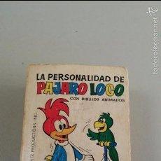 Tebeos: MINI INFANCIA Nº 73 LA PERSONALIDAD DE PAJARO LOCO, 1ª ED. DICIEMBRE 1970. Lote 57827047