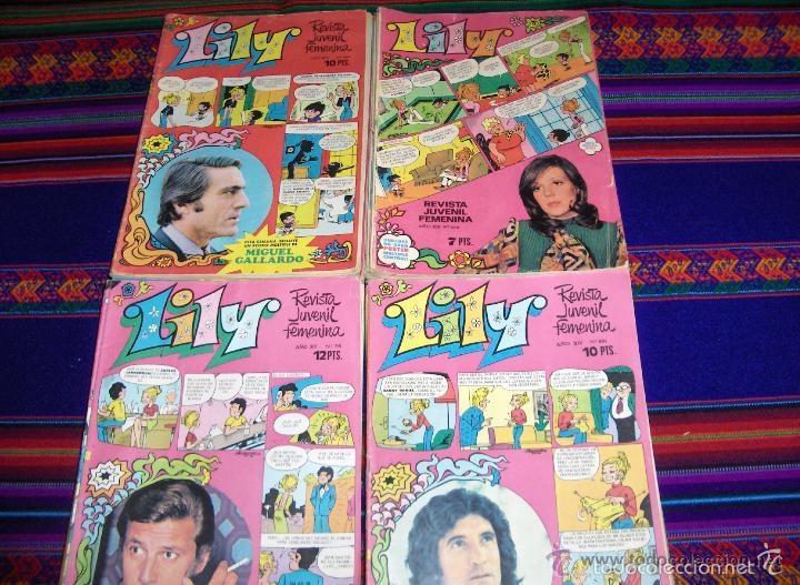 Tebeos: LOTE 79 NºS DE LILY CON PÓSTER ENTRE 524 Y 815 1044 1106 1200. REGALO 11 SIN PÓSTER. MBE. AMPLIO 38. - Foto 4 - 41800774