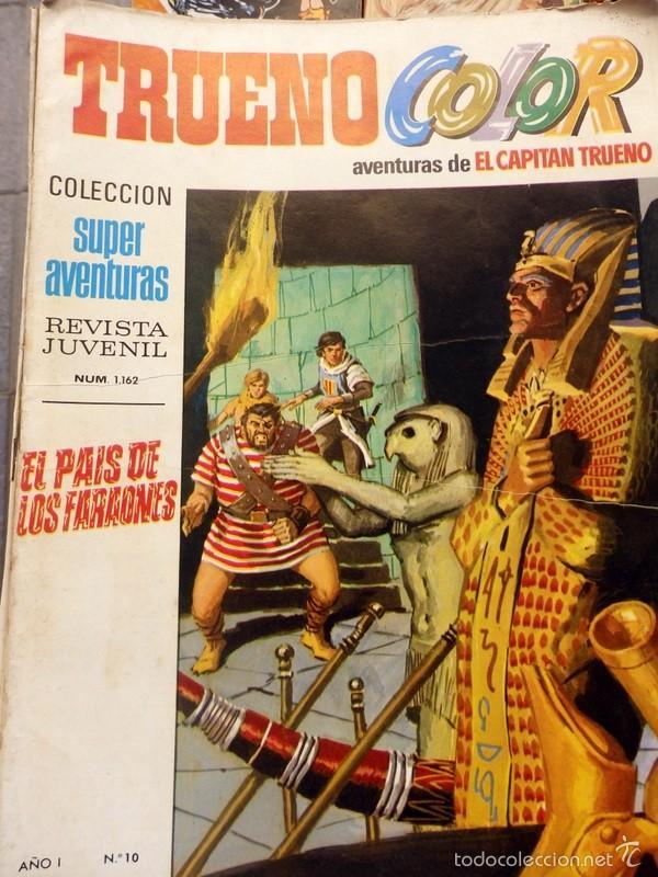 TRUENO COLOR Nº 10 PRIMERA ÉPOCA. BRUGUERA 1969 8 PTS. (Tebeos y Comics - Bruguera - Capitán Trueno)