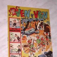 Tebeos: VEN Y VEN Nº 2. BRUGUERA 1959. PÁGINAS CENTRALES CON EL JABATO DE DARNÍS. VÁZQUEZ, RAF, IBÁÑEZ +++. Lote 57841126