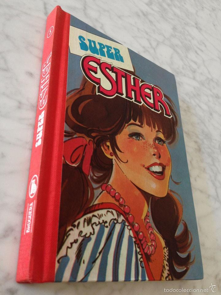 Tebeos: SUPER ESTHER - Nº 5 - ED. BRUGUERA - 1ª EDICIÓN - 1983 - Foto 3 - 57874016