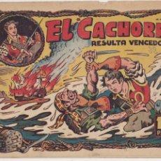 Tebeos: EL CACHORRO Nº 22, BRUGUERA 1951.. Lote 57885605