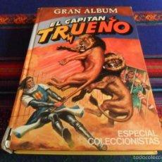 Tebeos: GRAN ALBUM EL CAPITÁN TRUENO ESPECIAL COLECCIONISTAS Nº 1. BRUGUERA 1980. RARO.. Lote 57887192