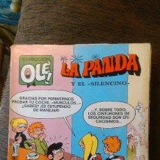 Tebeos: LA PANDA Y EL SILENCINO. OLE. 40. 1ª EDICIÓN. Lote 57893320