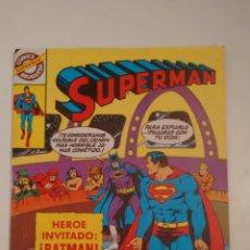 Tebeos: SUPERMAN Nº 48. BRUGUERA 1981. HEROE INVITADO BATMAN. MURPHY ANDERSON, KURT SCHAFFENBERGER. Lote 57918321