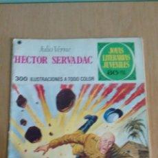 Tebeos: JOYAS LITERARIAS JUVENILES Nº 167. HECTOR SERVADAC. JULIO VERNE. BRUGUERA. Lote 57922624