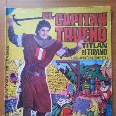 Tebeos: EL CAPITAN TRUENO ALBUM GIGANTE Nº 9 EDITORIAL BRUGUERA 1964. Lote 57923276
