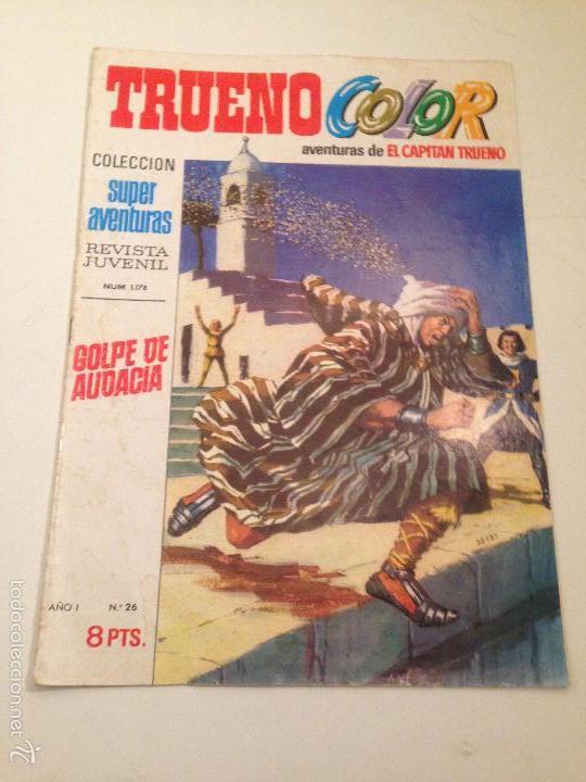 TRUENO COLOR Nº 26. GOLPE DE AUDACIA. PRIMERA 1ª EPOCA. BRUGUERA 1969 (Tebeos y Comics - Bruguera - Capitán Trueno)